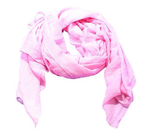 Damen Frühjahr-/Sommer Schal Damenschal Sommerschal in rosa von der Marke MyBeautyworld24