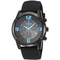 Mathey-Tissot Classic Reloj de Hombre Cuarzo 45mm Correa de Goma H511CHBUB