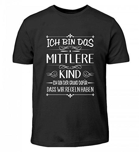 Ich Bin Das Mittlere Kind Ich Bin der Grund Dafür Das Wir Regeln Haben - Kinder T-Shirt