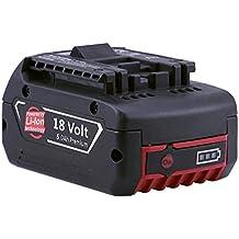 Eagglew 18V 5000mAh Lithium-Ion Taladro Reemplazo Batería para Bosch Herramientas BAT609 BAT610G BAT618G BAT620