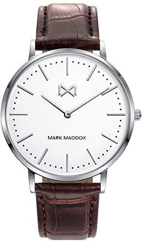 Mark Maddox HC7116-07 Montre à Bracelet pour Homme