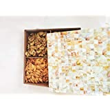 Brass & Gifts Decorative Dry Fruit Box/Snacks Box With 4 Storage Compartment For Home & Office