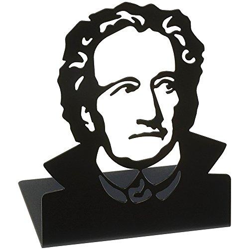 moses. 82715 libri_x Büchstützen Goethe, 2er Set (Sport-buchstützen)