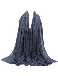 2daeb0fb94be MRULIC Echarpes foulards femme Foulards Echarpe Foulard Long dame écharpe  châle écharpe femme écharpe wrap écharpes
