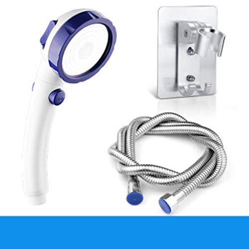 Chaosyj Duschkopf,Handbrause, Hochdruck 3 Strahlarten Handheld Mit Brauseschlauch Universal Duschbrause Chrom Und Einstellbarer Wasserdurchfluss