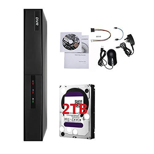 HIKVISION 4K 3MP 4CH Turbo HD DVR 4-Kanal 1080P CCTV hd-tvi Hybrid Digital Video Recorder TVI ds-7204hqhi-k1(kein HDD) 2 Tb Hybrid-recorder