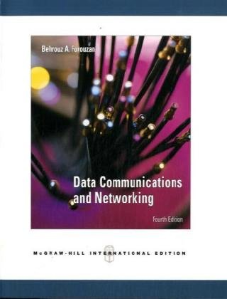 Data Communications Networking