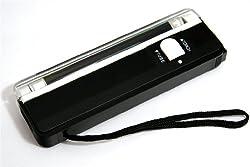 UV-Briefmarkenanalysenlampe Geldfake Prüfer tester zum Erkennen von fluoreszierenden Marken/Scheinen, Reparaturen und Fälschungen Mobiler Geldprüfer
