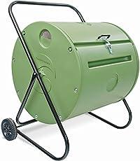 COMPOSTUMBLER Mantis Trommelkomposter Mini 140 Liter - Thermokomposter aus Hohen Dichte Kunststoff, Wetterfest