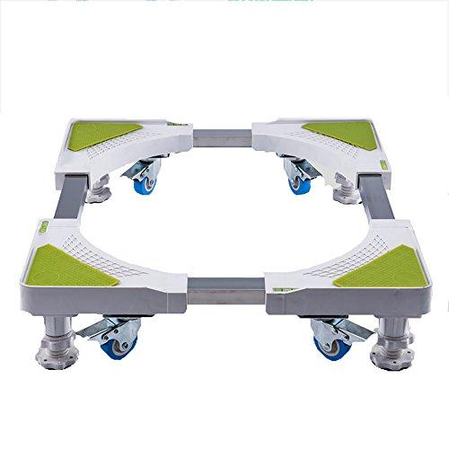 Beweglicher Base Case Roller Dolly Für Waschmaschine Trockner Und Kühlschrank Multi-funktionale Mute Lager 1000 Kg