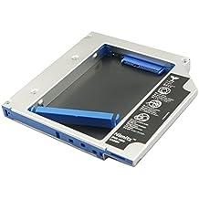 Disco duro de Nimitz 2nd SSD disco duro Caddy para Dell Alienware M15X, M17X