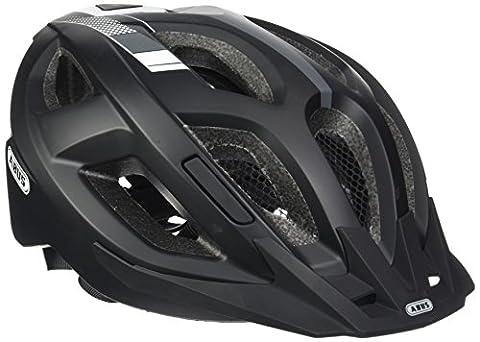 Abus Aduro 2.0 Fahrradhelm, Race Black, 52-58 cm