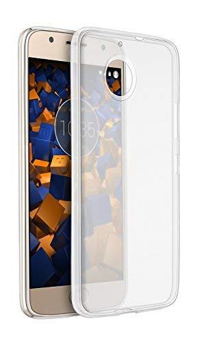 mumbi UltraSlim Hülle für Motorola Moto G5S Plus Schutzhülle transparent (Ultra Slim - 0.70 mm)