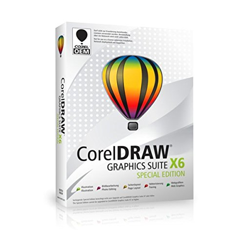 COREL Draw Graphics Suite X6 Special Edition -