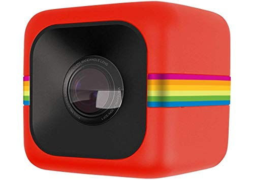 Polaroid Cube HD 1080p Lifestyle Action Videokamera (Rot)