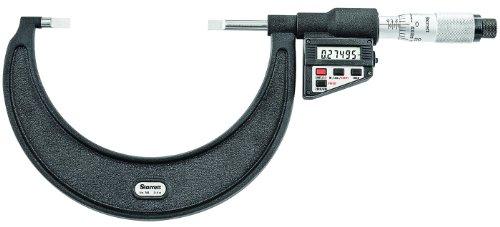 Starrett 786p-4LCD Blade-type Micromètre, absence Spindle, UNI Dé à Coudre, 3–10,2cm Range, 0cm Graduation