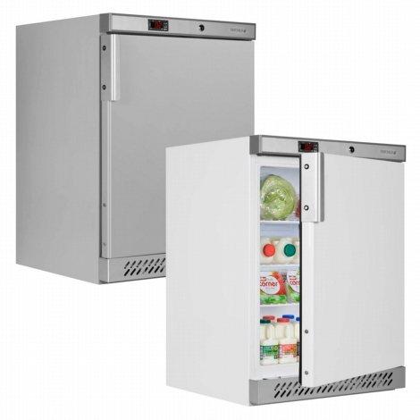 Tefcold UR200 Palette Untertisch- Solide Tür Chiller Gekühlt Lagerung mit Edelstahl 850(H)x600(B)x600(D) 153 Liter 3 Regale -2 Jahr Teile Garantie Inklusive (Tür Display Chiller)