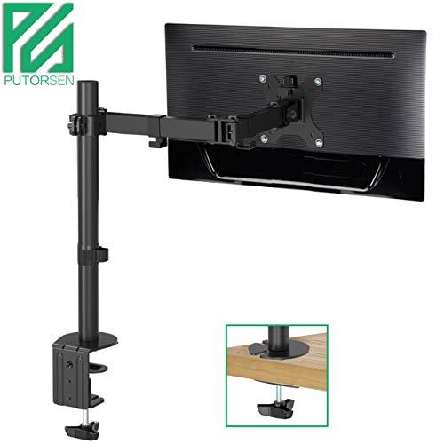 PUTORSEN® Monitor Halterung, Monitor Tischhalterung, Monitorarm, Bildschirm