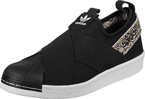 adidas Superstar Slip On W Scarpa Nero