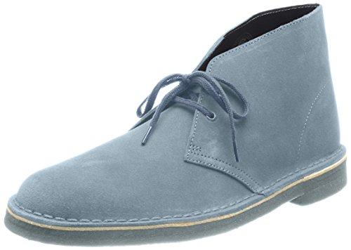 Boot Clarks Boots Stivali Uomo grey Desert Clarks Boot Blue Blu 7PEq5wfEAR