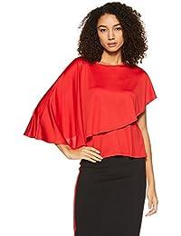AND Women's Plain Regular Fit Top