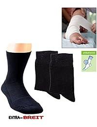 2 Paar spezielle  Komfort-Socken für sogenannte Wasserbeine bzw.Elefantenfüße