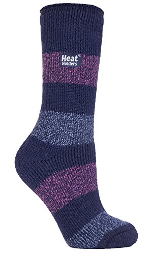 HEAT HOLDERS - Frauen Damen Ursprüngliche Ultimative Thermal Socken, eine Größe 37-42 Eur (Twist Seascale 1793) -