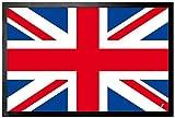 1art1 114382 Flaggen der Welt - Großbrittanien Länder-Flagge, Union Jack Fußmatte Türmatte 60 x 40 cm