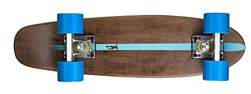 Ridge Skateboards Maple Mini Dark Dye - Longboard, Talla 22-Inch