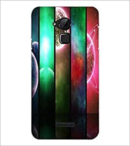 PrintDhaba Pattern D-2691 Back Case Cover for COOLPAD NOTE 3 LITE (Multi-Coloured)