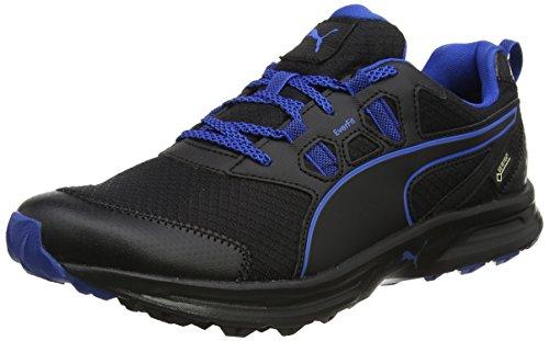 PUMA Herren Essential Trail GTX Outdoor Fitnessschuhe, Schwarz (Black-Lapisblue-Quiet Shade), 41 EU