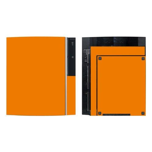 Disagu Design Skin für Sony PS3 stehend + Controller - Motiv Orange (Skins-orange Controller Ps3)