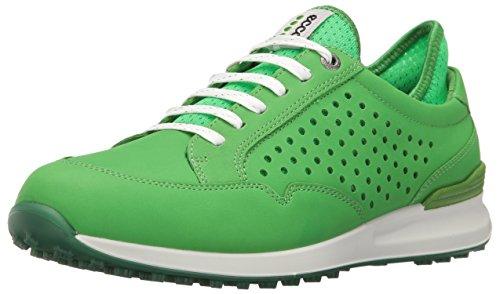 Ecco Women'S Speed Hybrid, Chaussures de Golf Femme, Grün (50095MEADOW/Toucan Neon), 38 EU
