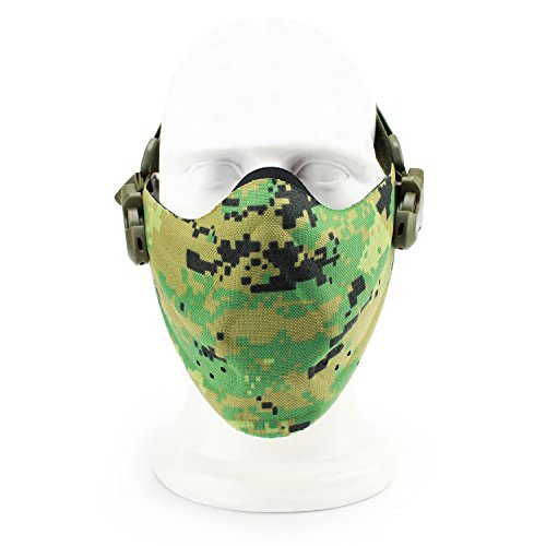 Camo Hockey Maske - SGOYH Airsoft Paintball Schutzausrüstung Half face