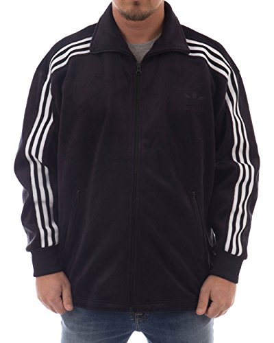 adidas Herren Velour Bb Originals Jacke, Black, XL