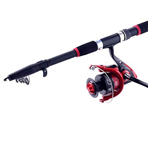Cfghxjndghzxdghbxgf set di attrezzi da pesca con asta da pesca con canna da pesca orata 2.1 metri