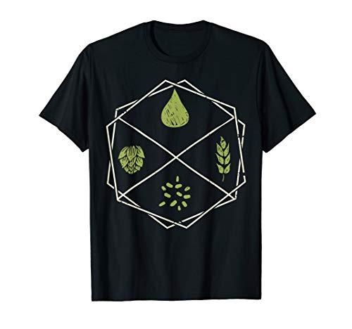 Funky Bierbrauer Craft Homebrew IPA Liebhaber Geschenk T-Shi (Brewer Shirts)