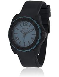 Watx RWA1851 - Reloj unisex con correa de caucho, color azul / gris