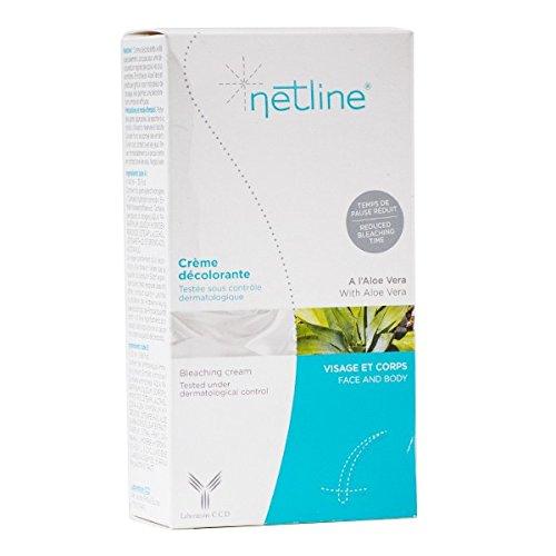bioes NETLINE-Creme décolorante Daunen Düstere Gesicht Körper-20ml