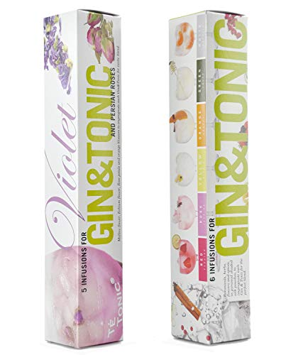 Te Tonic experience Violet and Gin Tonic Infusionen - Nanopack Packung