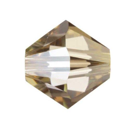 5�mm perline di cristallo Swarovski Crystal Golden Shadow, 100�pz