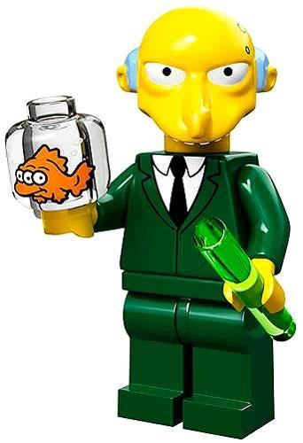 Lego 71005 The Simpson Series Mr. Burns Simpson Character Minifigures by LEGO 1