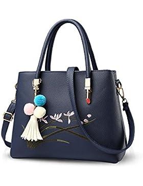 NICOLE&DORIS Neue Mode Süß Damen Handtaschen Umhängetasche Tasche Crossbody Groß Tasche PU