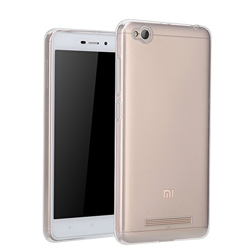 Redmi 4A Back Cover Soft Transparent Silicone by Mobilix for Redmi 4a  available at amazon for Rs.99