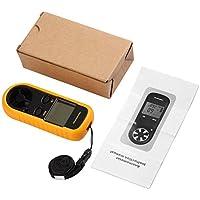 Sensible GM816 LCD Digital Anemómetro Aire Viento Velocidad Escala Medidor Medidor Termómetro con sensor de presión de alta precisión