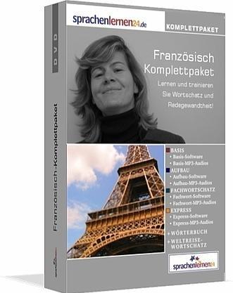 Preisvergleich Produktbild Französisch-Komplettpaket von Sprachenlernen24.de