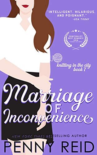 Marriage of Inconvenience: A It's About Time Romance (Knitting in the City Book 7) (English Edition)