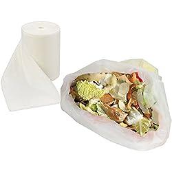 Sacos de 45L 100% biodegradables, 90 unidades