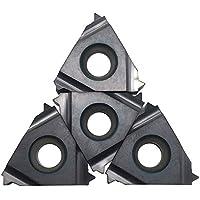 10 hojas de carburo indexables 16IR 14UN SMX35 para mecanizar acero inoxidable y acero, hierro fundido