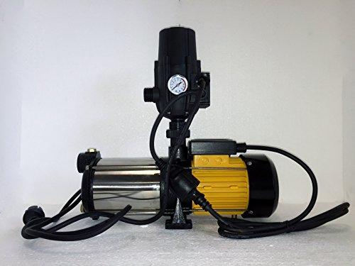 megafixx HMC5SA-G94174 Kreiselpumpe 1100 Watt 5 stufig bis 5,5 Bar + Druckschalter von Güde